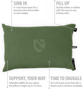 Best Camping Pillow for Slide Sleepers
